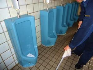 終了後のトイレ。世界一綺麗なトイレになりました。