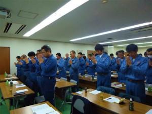 平成26年3月9日安全会議の様子